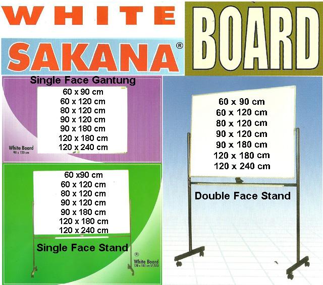 brosur whiteboard sakana